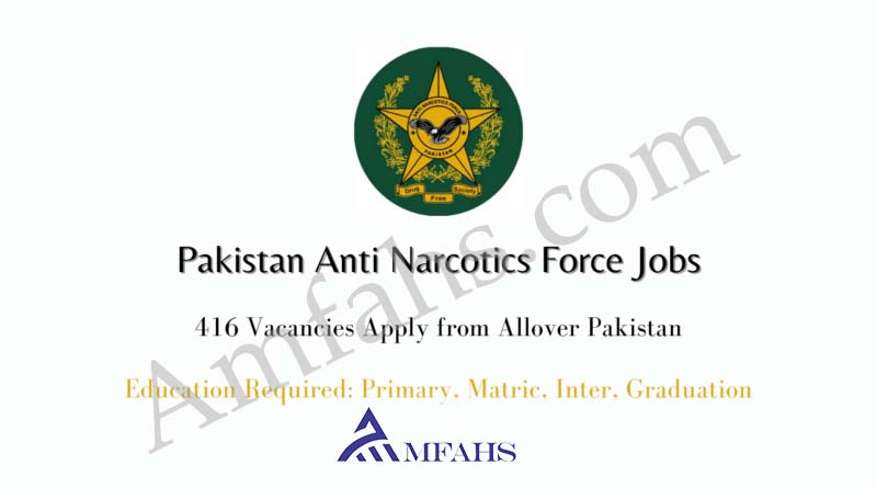 ANF Jobs 2020 Advertisement