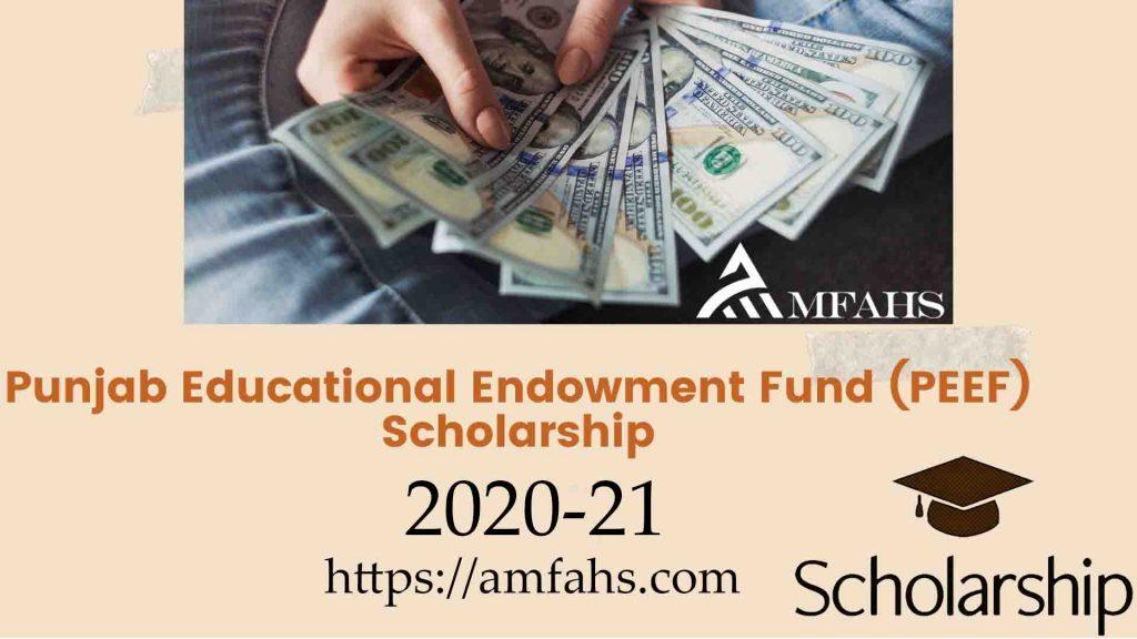 Need Based Scholarships