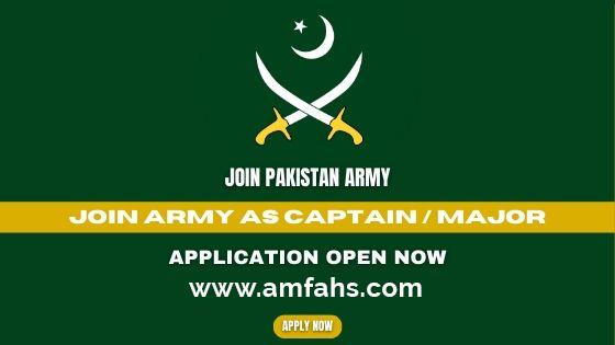 Pak Army Jobs 2021 join as Captain through DSSC