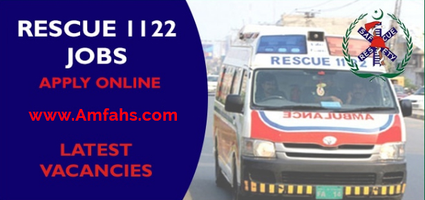 rescue 1122 jobs 2021